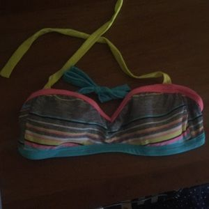 This bathing suit top goes with anything
